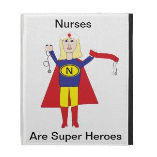 Nurses Super Heroes (Blonde) iPad Folio Covers