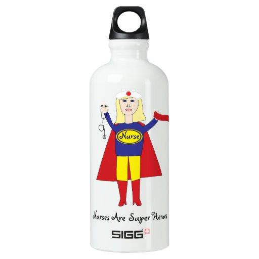 Nurses Super Heroes (Blonde) SIGG Traveler 0.6L Water Bottle