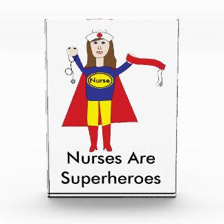 Nurses Superheroes (Brunette) Award