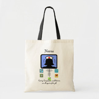 nurses tools of the trade tote bag