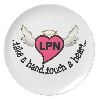 Nurses Touch Plate