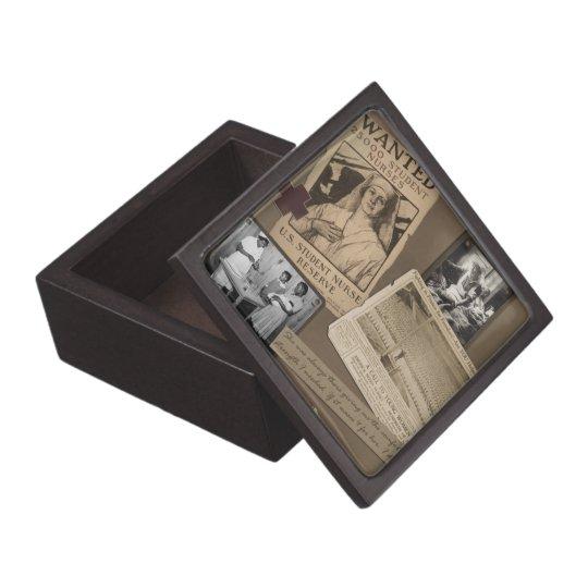Nurse's Vintage Style Trinket Box