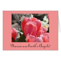 Nurses Week Cards Tulips Earth's Angels Nursing