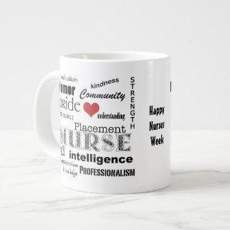 Nurses Week-Placement Nurse Pride-Attributes Giant Coffee Mug