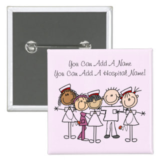 Nurses Week T-shirts and Gifts 2 Inch Square Button