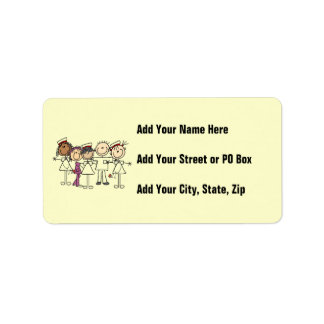Nurses Week T-shirts and Gifts Address Label