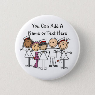 Nurses Week T-shirts and Gifts Button