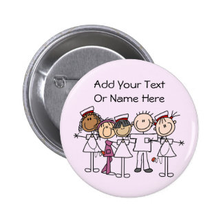 Nurses Week T-shirts and Gifts Buttons