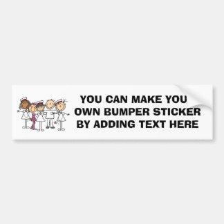 Nurses Week T-shirts and Gifts Car Bumper Sticker