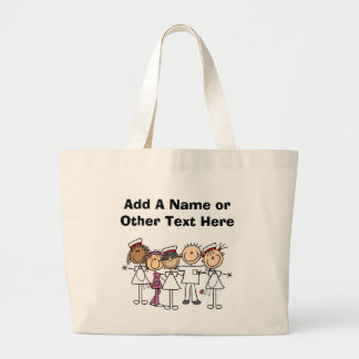 Nurses Week T-shirts and Gifts Large Tote Bag