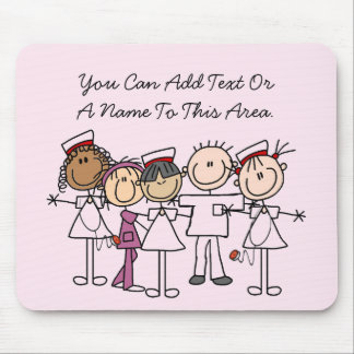 Nurses Week T-shirts and Gifts Mouse Pad