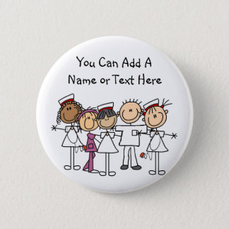 Nurses Week T-shirts and Gifts Pinback Button