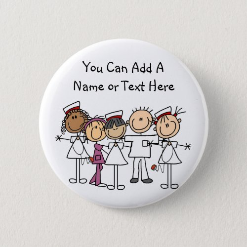 Nurses Week T_shirts and Gifts Pinback Button