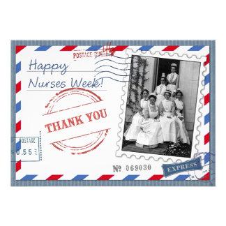 Nurses Week . Vintage Design Greeting  Cards