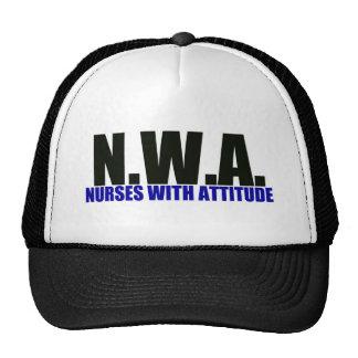 Nurses With Attitude Trucker Hat