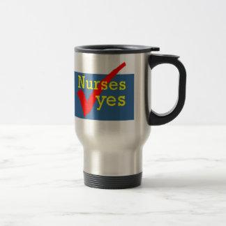 Nurses Yes Travel Mug