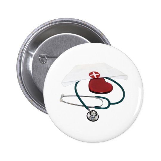 NursesHaveHeart082309 Pinback Button