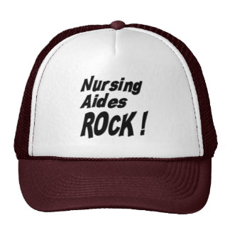 Nursing Aides Rock! Hat