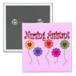 Nursing Assistant Gifts--Floral Design Pin