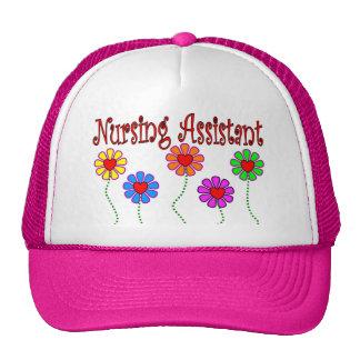 Nursing Assistant Gifts--Floral Design Trucker Hat