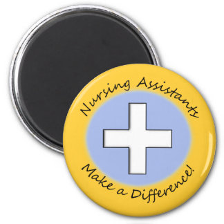 """Nursing Assistant Gifts """"Making a Difference"""" Magnet"""