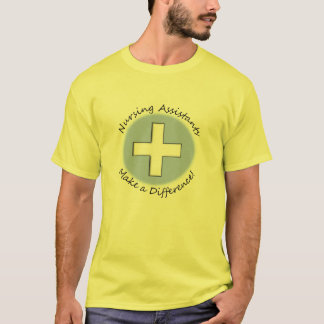 """Nursing Assistant Gifts """"Making a Difference"""" T-Shirt"""