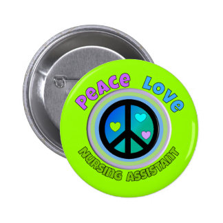 Nursing Assistant Gifts Pinback Button