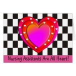 Nursing Assistant Thank You Card