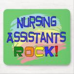 Nursing Assistants ROCK Mouse Pads
