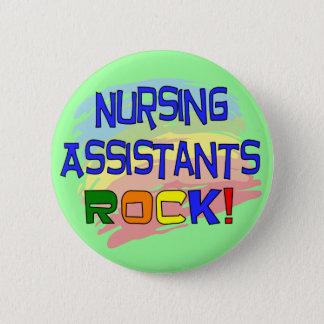 Nursing Assistants ROCK Pinback Button