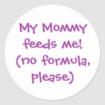 Nursing Awareness Infant Hospital Sticker