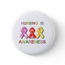 NURSING AWARENESS PINBACK BUTTON