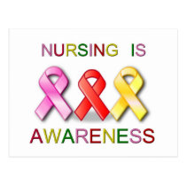 NURSING AWARENESS POSTCARD