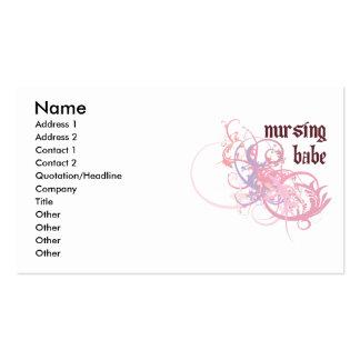 Nursing Babe Business Cards