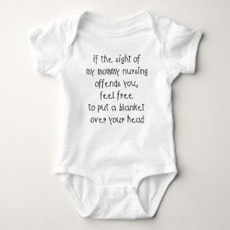 Nursing Blanket Baby Bodysuit