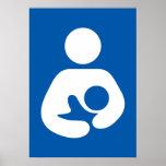 Nursing / Breastfeeding Symbol Poster