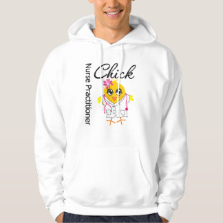 Nursing Career Chick Nurse Practitioner Hooded Sweatshirt