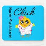 Nursing Career Chick Nurse Practitioner Mouse Pad