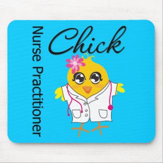 Nursing Career Chick Nurse Practitioner Mouse Pads