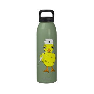 Nursing Chick Water Bottles