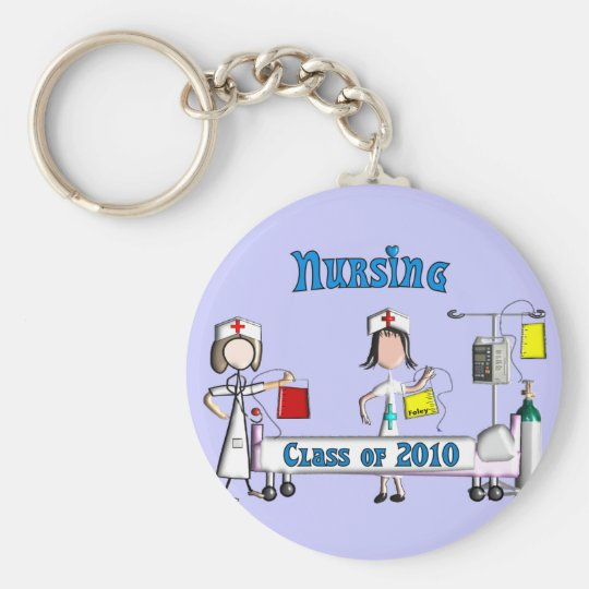 Nursing Class of 2010 Gifts Keychain