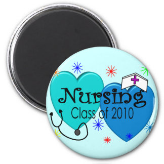 Nursing Class of 2010 Gifts 2 Inch Round Magnet
