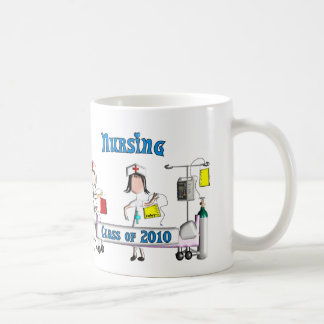 Nursing Class of 2010 Gifts Classic White Coffee Mug