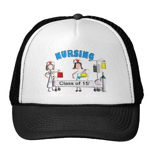 Nursing Class of 2015 Art T-Shirts Trucker Hat