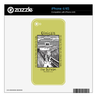 Nursing Clinicals - The Scream Decals For The iPhone 4