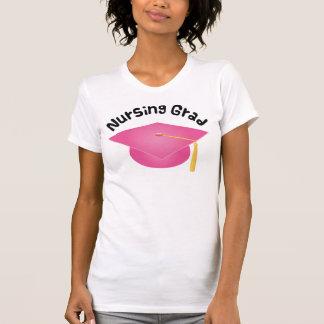 Nursing Grad Pink Grad Hat Gift Shirt