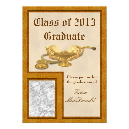 Nursing Graduation Invitation