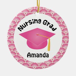 Nursing Graduation personalized gift Ceramic Ornament