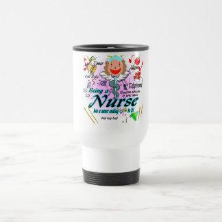Nursing Has A Ring To It Travel Mug