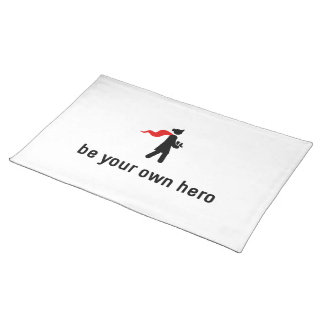 Nursing Hero Cloth Placemat